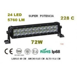 FARO BARRA AgroleD 24LED 72W 5760LM 228C