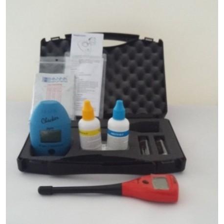 Malet n analizador de cloro y ph hanna - Analizador de cloro ...