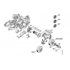 "Motosierra STIHL MS 261 C-BM 325"" RM 40 cm"