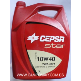 Aceite Cepsa Star 10W40 TDI-GTI 5L