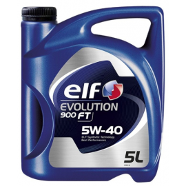 Aceite Elf Evolution 5W40 900FT LSX 5L