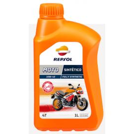 Aceite Repsol Moto Elite 4T Sintético 10W40 1L