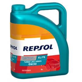 Aceite Repsol Elite Turbo Life 50601 0W30 5L