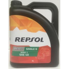 Aceite Repsol Serie 3ª SAE 40 Single G 5L