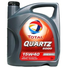 Aceite Total Quartz 5000 Diesel 15W40 5L