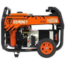 Generador Genergy Astún 7000W 230V arranque eléctrico