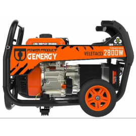 Generador Genergy Veleta-S 2800W 230V arranque manual