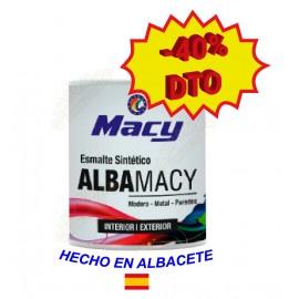 Esmalte Sintético Alba-Macy Satinado