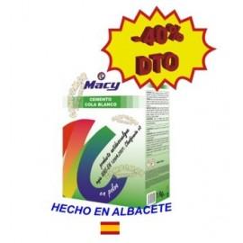 Cemento Cola Blanco Macy 1 Kg