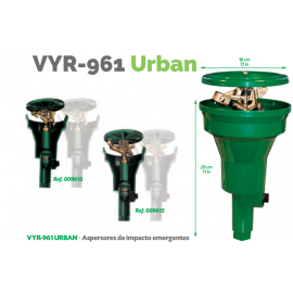 "Aspersor VYR-961 POP-UP Emergente Urban 3/4"" Hembra"