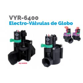 """Electroválvula de Globo VYR-6400 1"""" Hembra Vyrsa"""