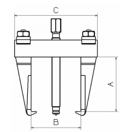 Extractor Mecánico 1020LA Forza 2 Patas 390 X 380