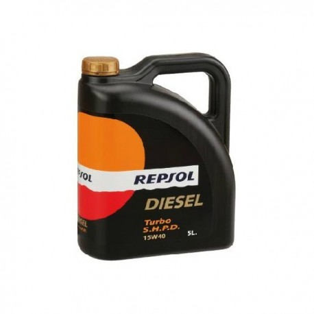 REPSOL SUPER TURBO 15W40 SHPD 5L