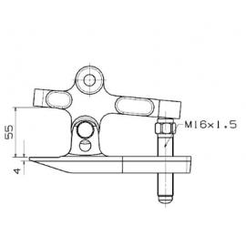Extractor De Rótulas De 4 Posiciones 5673C Forza