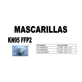 Pack Mascarillas KN95 FFP2 Sin Válvula