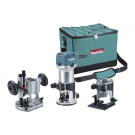 Fresadora Multifunción RT0700CX2 6 y 8MM Makita
