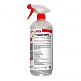 Limpiador Desinfectante Liquido Con Pistola 1 Litro OX-Virin