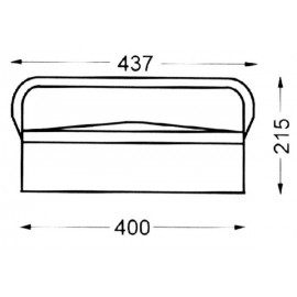 Caja Herramientas Metal Heco 101.3