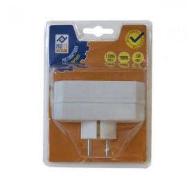 Multiadaptador Frontal 3 Tomas 16A Blanco PH0307 Profer