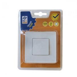 Conmutador Empotrado 10A Blanco PH0333 Profer