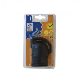 Portalámparas E-27 Con Rosca Negro PH0284 Profer