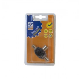 Conector TV Triple Metal 2M 1H PH0359 Profer