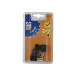 Conector TV Kit 1M 1H Acodado Negro PH0364 Profer