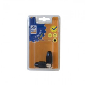 Conector TV Kit 1M 1H Recto Negro PH0363 Profer