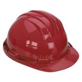 Casco Obra Homologado Rojo 5 RS Climax