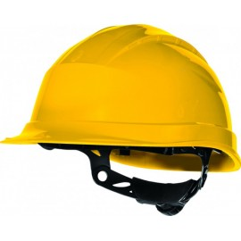 Casco Obra Homologado Aislo Amarillo QUARTZ UP3 Delta Plus