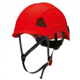Casco Barboquejo Rojo Climber Safetop