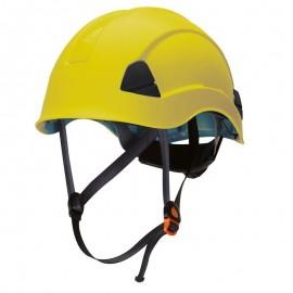 Casco Barboquejo Amarillo Climber Safetop