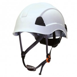 Casco Barboquejo Blanco Climber Safetop