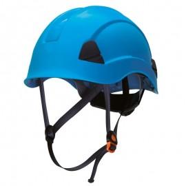 Casco Barboquejo Azul Climber Safetop
