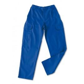 Pantalón Tergal Multibolsillos Azulina 388-P Marca