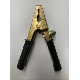 Pinza Batería Latón 250 A Negra Reforzada
