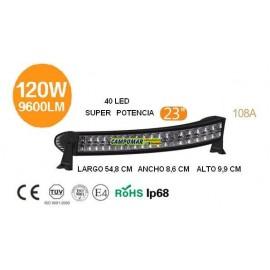 FARO BARRA 40 LED 120W 9600LM 108A