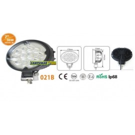 FARO DE TRABAJO AgroleD 12 LED 3600 LM 36W 021B