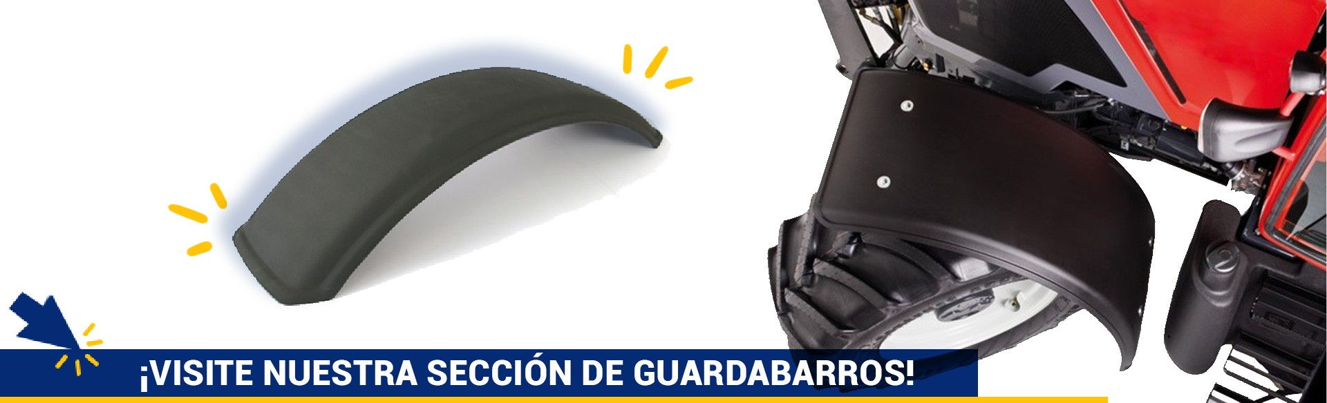 Guardabarros De Tractor